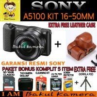 SONY ALPHA A5100 L KIT Lensa SEL 16-50MM / ILCE-5100L / ALPHA A5100