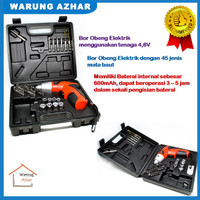 Mesin Bor Obeng Elektrik Cordless Multi-function Electric Screwdriver
