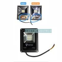 lampu led sorot 10w / flood light / tembak / pangung / outdoor / taman - Warmwhite