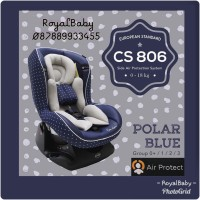 CARSEAT DUDUKAN MOBIL BAYI COCOLATTE CL 806 BLUE