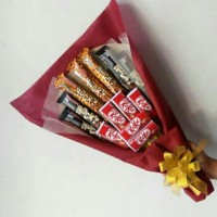 bouquet coklat| valentine| buket coklat| buket wisuda| buket snack