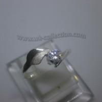 Cincin Wanita-Simpel Elegan-Perak 925 (seri RL014) Kualitas Bagus