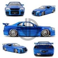 Diecast Jada Nissan Skyline GT-R (R34)