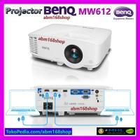 Projector BenQ mw612 HDMI WXGA 1280x800 USB 4000L DLP Proyektor mw 612