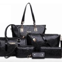 Tas set bag import croco 120811