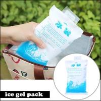 Jelly Ice Gel Pack Blue Es Air Cooler Kantong Mini Murah 400 ml HAE
