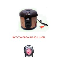 Turbo By Philips Distributor Rice Cooker 3IN1 Bonus Roll Kabel