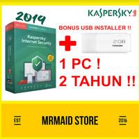 [PROMO] Antivirus Kaspersky Internet Security / KIS 1 PC 2 Tahun