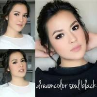 ORIGINAL Softlens Dreamcon / Dreamcolor Soul Black Soflens Softlense