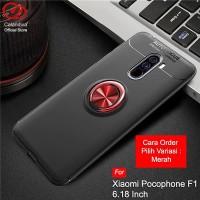 Calandiva Ultimate Ring Case For Xiaomi Pocophone F1 (6.18 Inch)