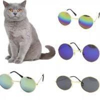 kacamata anjing BESAR kaca mata kucing fashion hewan 11cm