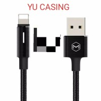 Mc DODO AUTO DISCONNECT LIGHTNING CABLE GEN 2 FAST CHARGING - BLACK
