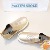 Cuci Gudang! Sepatu Semi boots Anak (A6262) - emas