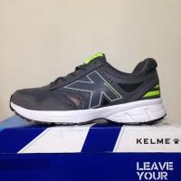 Promo Sepatu Running Lari Kelme Seattle Dark Abu 1314592 Ori