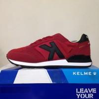 Promo Sepatu Running Lari Kelme Charles Burgundy 46818-63 Ori