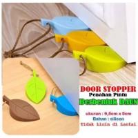 Door stopper /penahan pintu bentuk daun