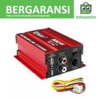 Kinter Amplifier Speaker 2 channel 500W - MA150 - Merah