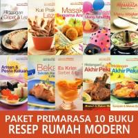 PAKET PRIMARASA 10 BUKU RESEP RUMAH MODERN