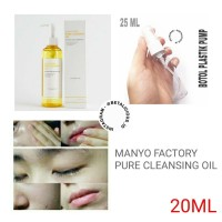 MANYO FACTORY PURE CLEANSING OIL SHARE IN JAR 20ML