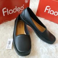 flatshoes formal hitam merk FLADEO