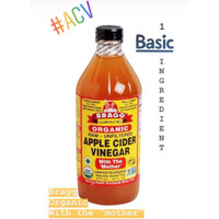 Bragg Organic Raw Apple Cider Vinegar, Unfiltered, the 'Mother' 473