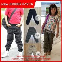 Celana Anak Jogger Joger Laki Cewe Lobo Original Nyaman Adem Keren