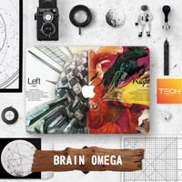 Brain Omega - Premium Macbook Skin Decal Cover Sticker