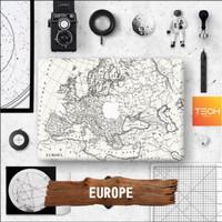 EUROPE - Premium MacBook Skin Decal Cover Sticker