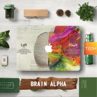 BRAIN ALPHA - Premium MacBook Skin Decal Cover Sticker