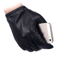 Sarung Tangan 53 - Pria Fashion Sarung Tangan Asli Kulit Domba Sarung