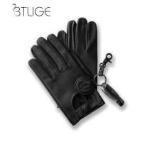 Sarung Tangan 21 - BTLIGE Mens Klasik Mengemudi Sarung Tangan Kulit Le