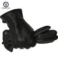 Sarung Tangan 6 - Musim dingin man kulit rusa sarung tangan kulit laki