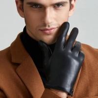 Sarung Tangan 56 - Pria Busana Asli Sarung Tangan Kulit Tipis/Tebal Pl