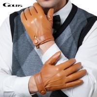 Sarung Tangan 90 - Gours Musim Dingin Asli Kulit Sarung Tangan Pria Me