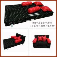 SOFA BED BUSA INOAC UK 200 X 120 X 20 CM