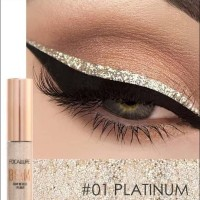 FOCALLURE Eyeliner Glitter Pen Liquid 100% ORIGINAL resmi bpom