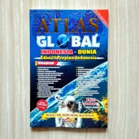 BUKU ATLAS GLOBAL INDONESIA - DUNIA EDISI TERBARU
