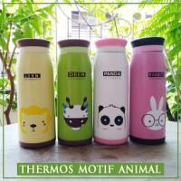 Thermos Termos Botol Minum Karakter ANIMAL 500ml
