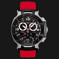 Jam Tissot T-Race MOTO GP RED Silver
