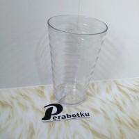 Gelas Plastik Coral GC-0001 / Gelas Plastik 480ml / Gelas Plastik