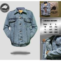 Jaket Jeans Original Octha Sandwash Grey Pria