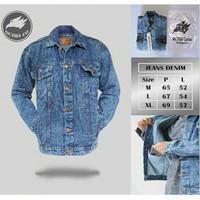 Jaket Jeans Original Octha Motif Pria
