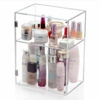 acrylic box makeup/tempat kosmetik akrilik /box parfum/rak kosmetik