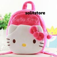 Tas Anak Ransel Boneka Karakter Hello Kitty Size M Import