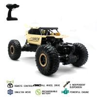 Mainan Mobil Offroad Remote Control Rocks Crawler - Emas
