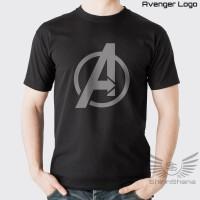 Kaos Premium Pria Superhero Avengers Logo Avenger Distro ShinnShana