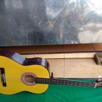 Gitar nilon akustik elektrik clasic