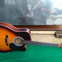 Gitar akustik elektrik sunbers new