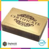 Kartu Remi Poker Gold Foil