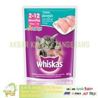 Whiskas Pouch Junior Wet Food Sachet 85gr Tuna